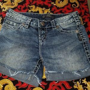 Silver Jeans Denim Shorts size 28